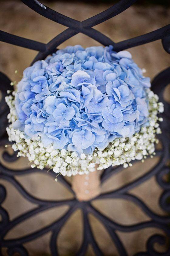 Букет невесты, гортензия розы москва